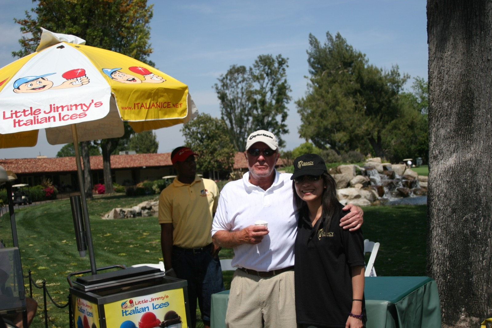 jamescaan James Caan Golf Outing in California