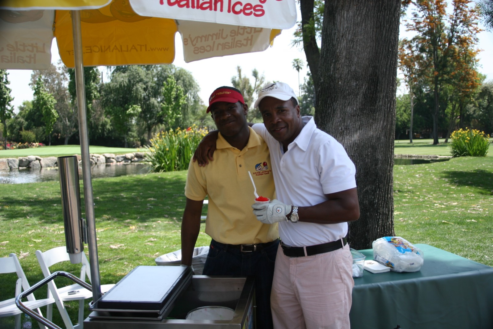 sugarray James Caan Golf Outing in California