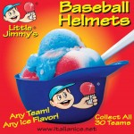 Major League baseball helmets