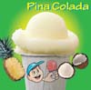 Little Jimmy Italian Ice Pina Colada