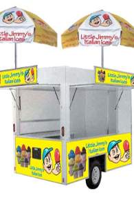 push cart, Italian Water Ice, Italian Water Ice, Water Ice, frozen desserts, Italian Ice, Cream Ice, concession trailer