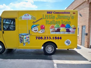 Brainfreeze Italian ice Truck